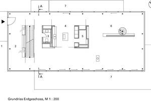Grundriss Erdgeschoss, M 1:200
