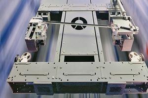 Mit einer Geschwindigkeit bis zu 10m/s fahren High-Rise-Aufzüge bis in die höchsten Etagen