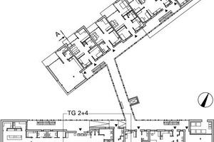 Übersichtsplan Grundriss Erdgeschoss, M 1:750