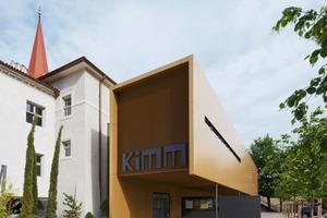 """Der Schriftzug """"KIMM"""" bedeutet Kultur im Mais Meran<br />"""