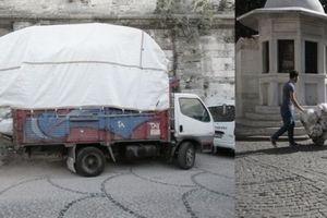 Möglichkeiten des Warentransports in Istanbul.