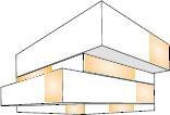 expressive Fassadenöffnungen