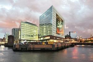 Das neue Spiegel-Haus in der Hamburger HafenCity<br />