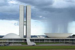 Oscar Niemeyer mit Lucio Costa: Brasilia