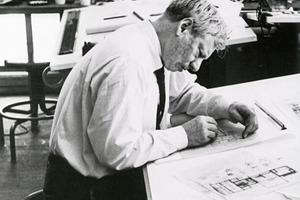Louis Kahn im Atelier