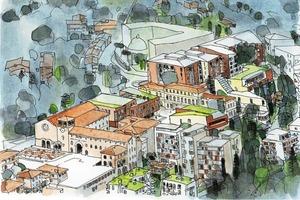 Masterplan Monteluce, Perugia 2006-2008/…<br />
