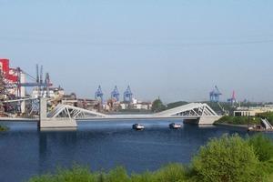Als Ersatz für die Rethequerung aus dem Baujahr 1934 entsteht die neue Rethebrücke am südlichen Rand des Hamburger Hafens<br />