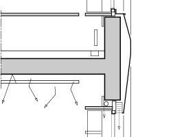 Fensterdetail, M 1:75<br />