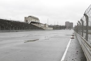 Zeppelintribüne, Haupttribüne an einem ehemaligen Rennkurs, Ziel und Start