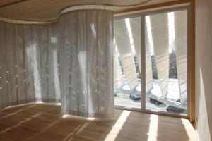 """Smart Curtain"" mit LED"