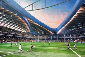 WM-Stadion in Katar 2022: Al-Wakrah, von Zaha Hadid Architects