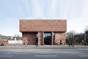 Die Bielefelder Kunsthalle von Philip Johnson wurde 1968 eröffnet