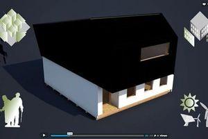 mit gebäudeintegrierter aktiver Solarenergietechnik einen Energieüberschuss zu produzieren