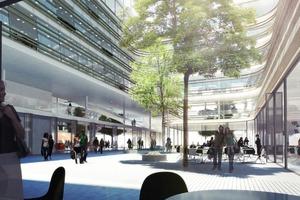 Neue Siemens-Zentrale mit viel öffentlichem Platz<br />