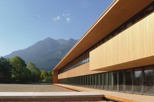Gewinner des BDA Preis Bayern 2013: Finanzamt,  Garmisch-Partenkirchen; Architekt: Reinhard Bauer Architekt BDA, München; Bauherr: Bayerisches Staatsministerium der Finanzen vertr. d. d. Staatliche Bauamt Weilheim