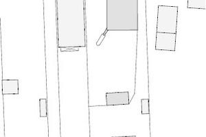 Lageplan, M 1:1500