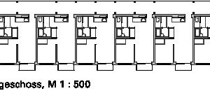 Grundriss 1.Obergeschoss, M 1:500