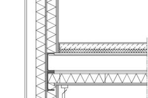 2-geschossiger Modulbau auf Ortbetonfundament