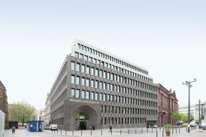 Anerkennung (2000 €) u. a. an die Bremer Landesbank von Caruso St John Architects, London/Zürich. Bauherr: Bremer Landesbank