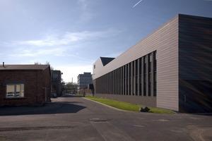 2010 Sanierung und Erweiterung einer Industriehalle-Chemiekonzern Umicore, 2010<br />