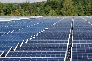 Großflächige Dächer generieren als Solardach ausgerüstet entsprechend große Leistung