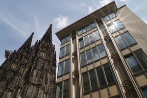 Sonderpreis des Bundesministeriums für Verkehr, Bau und Stadtentwicklung 2012: Blau-Gold-Haus in Köln von kister scheithauer gross architekten und stadtplaner (ksg©Hueck)