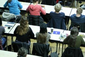 Es wird mitgeschrieben: Das Auditorium während des DBZ Werkgesprächs an der TH Köln