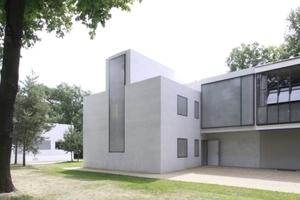 Auch eine Anerkennung: die Neuen Meisterhäuser in Dessau-Roßlau