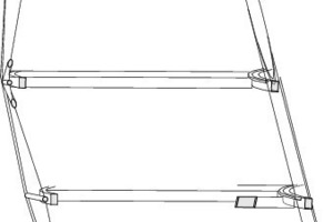 Fassadenschnitt BB, M 1:200