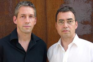 Frank Kasprusch  und Hermann Scheidt