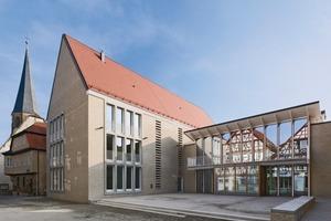 Foto2: Zentrales Thema des Entwurfes ist: Kontinuität von Ort, Gestalt und Geschichte<br />