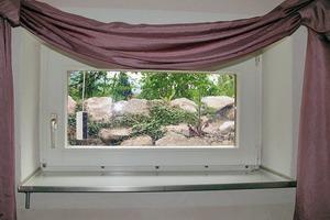 Bild6: Innenansicht des Fensters mit Auffangwanne