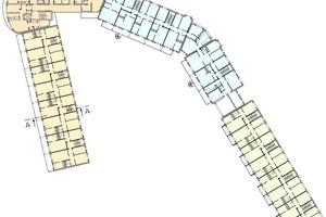 Grundriss 5. Obergeschoss, M 1:1000