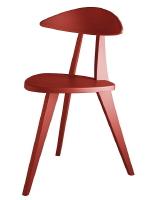 Eine Ikone moderner Gestaltung: Der dreibeinige Holzstuhl  von Walter Papst