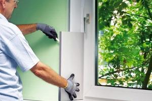 Laibungsdämmung als Wärmebrückendämmung in der Fensterlaibung bei einer Sanierung mit Innendämmung<br />