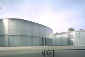 Foto: Christian Richters, Galerie Stihl und Kunstschule, hartwig schneider architekten