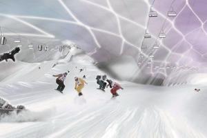 Skihalle in Arabien<br />