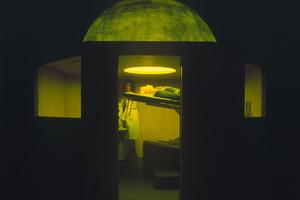 "James Turrell ""Perceptual Cell Series: Alien Exam"", 1989 |Installation | 260 x 150 x 50 cm | Foto: © Florian Holzherr"