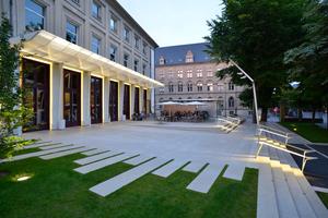 Parvis du TNS in Strasbourg, IXO architecture