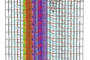 Abb. 9: Finite-Elemente-Modell<br />