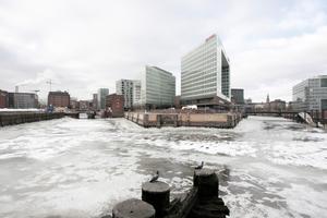 Die neue Spiegel-Zentral auf der Ericus Spitze in Hamburg