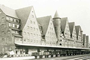 Danziger Lagerhaus. Foto um 1930
