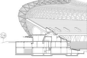 Fassadenschnitt, M 1:500<br />