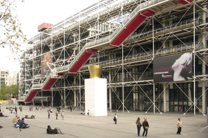 Centre Georges Pompidou, Paris (mit Richard Rogers)