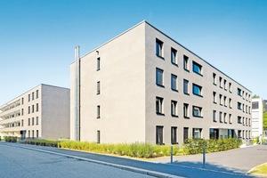 Anerkennung: Lörrach, Niederfeldplatz. CO₂ - neutrale Wohnanlage