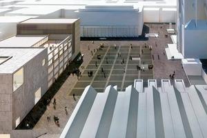Allmann Sattler Wappner Architekten öffnen durch die Niederlegung des RGM den Blick auf das Museum Ludwig und formen aus dem ehemaligen (Museums)Bestand einen Neubau am Roncalliplatz