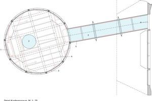 <p>1Bildschirm</p><p>2Glasboden</p><p>3Power LED</p><p>4Träger, 45 x 160 mm</p><p>5Glasgang, 8 mm Sicherheitsglas6Stahlträger, HEA 120</p>