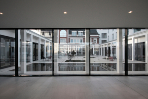 Transparenz in der neuen Eingangszone