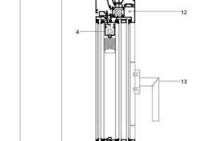 Detail Fassadenschnitt, M 1:7,5