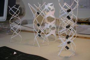 Konstruktionsprinzip Doppelhelix<br />